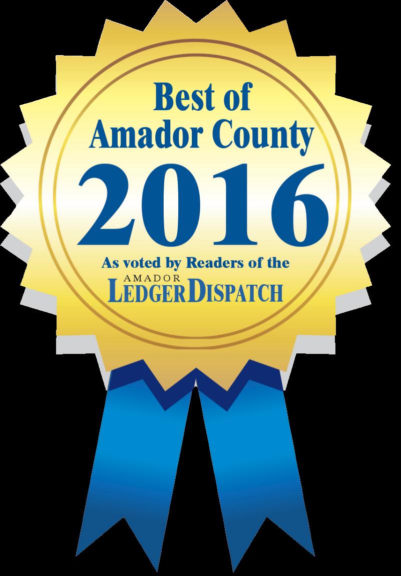 Best of Amador County 2016